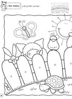 Figuras Maestra Jardinera Nº 8 Pattern Coloring Pages Coloring Pages Preschool Coloring Pages
