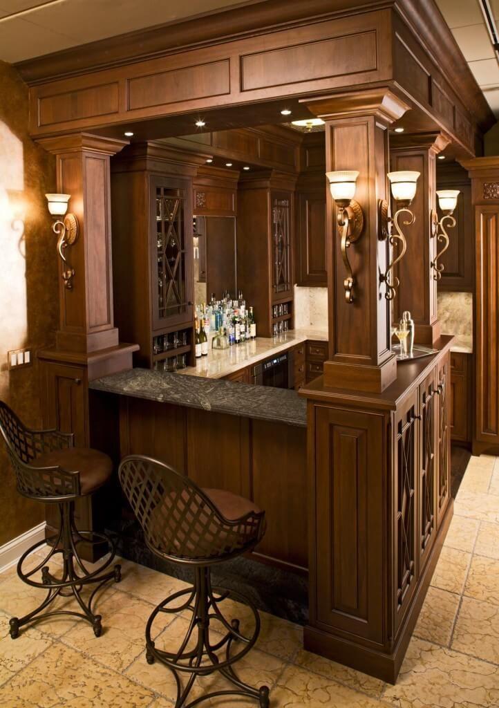 70 incredible home bar design ideas for