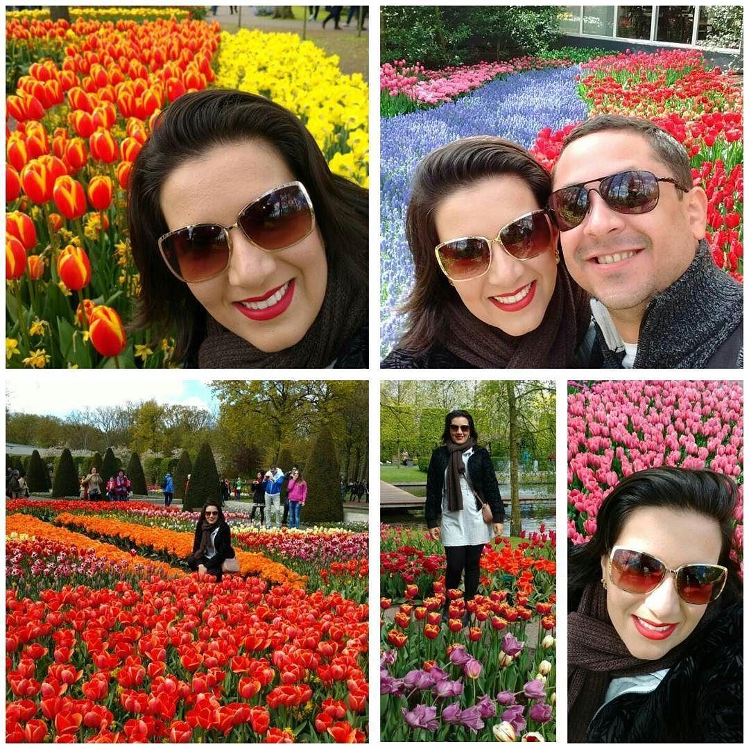 Muitas cores tulipas e amor! #nofilter  #amsterdam by alynnemcd