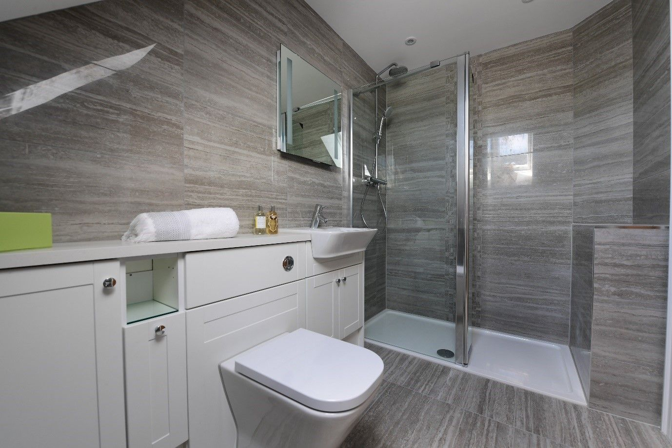 Grey Wooden Veined Marble Effects Inspired By The