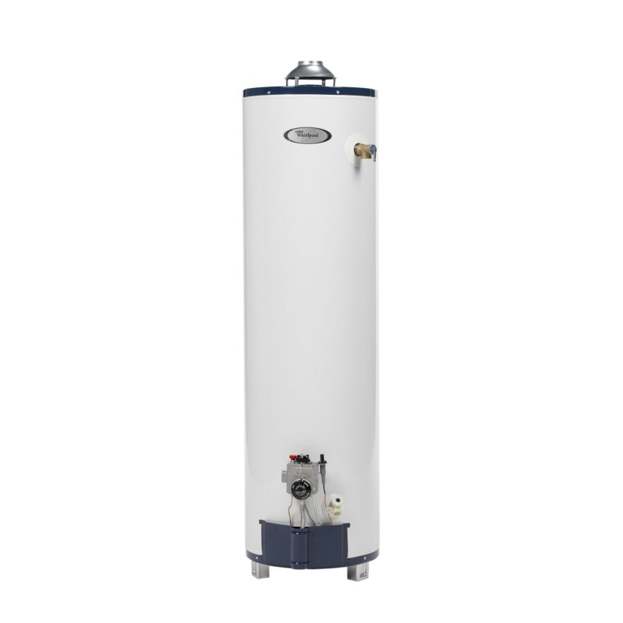 Whirlpool 40 Gallon 6 Year Residential Tall Natural Gas Water Heater Energy Star Gas Water Heater Natural Gas Water Heater Water Heater