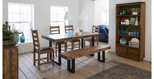 Toronto Fixed Table & Set of 4 Ladderback Chairs Toronto | DFS ...
