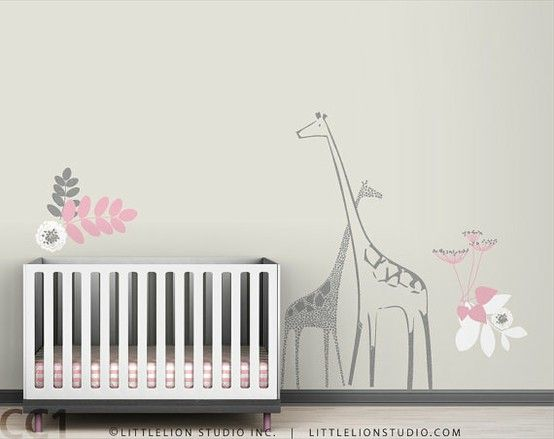 Adorable Nursery Mural