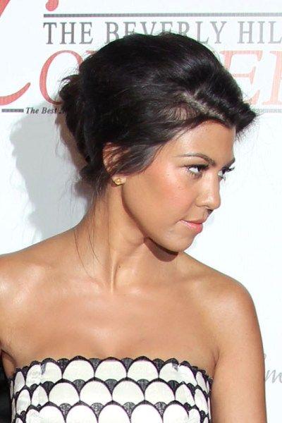 Surprising Kourtney Kardashian Hairstyles Kourtney Kardashian Hairstyles Short Hairstyles Gunalazisus