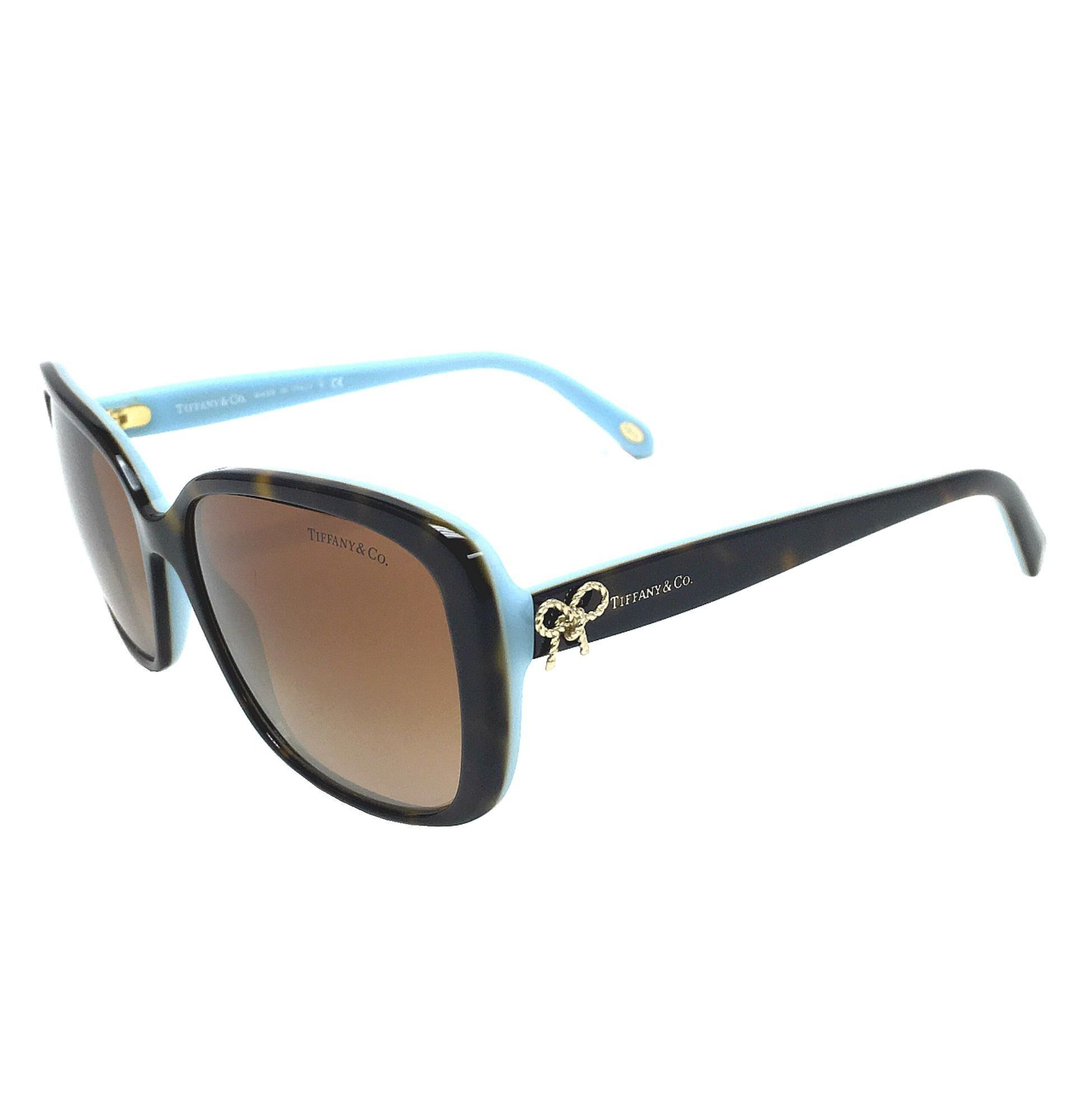 tiffany co tf4092 81343b havana blue brown gradient 56mm sunglasses - Tiffany And Co Color Code