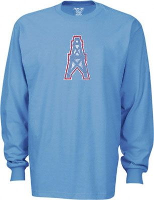 dbd652989 Houston Oilers long sleeve T-shirt