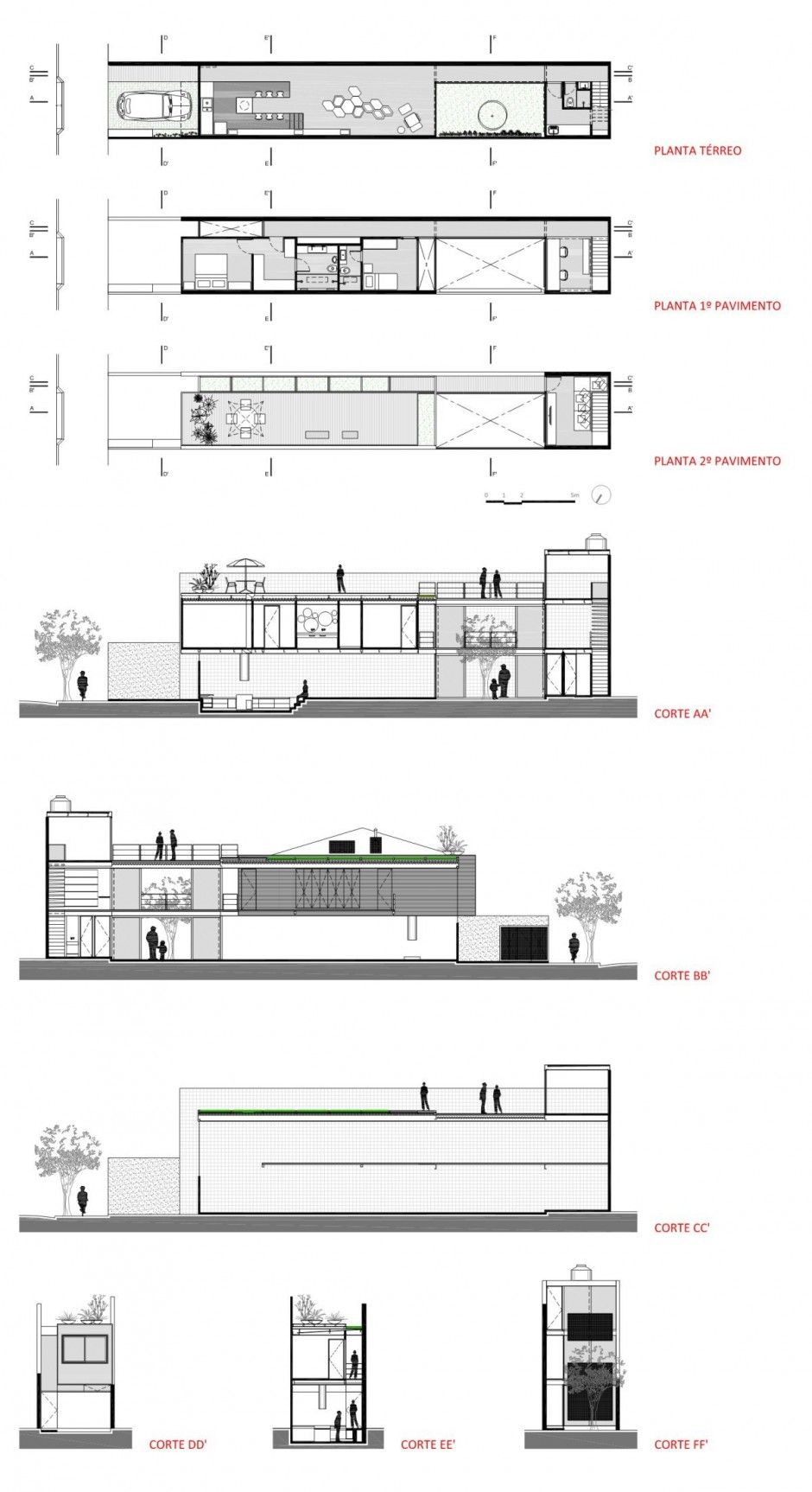 4x30 House By CR2 Arquitetos FGMF Architects Architecture DetailsArchitecture Interior DesignArchitecture