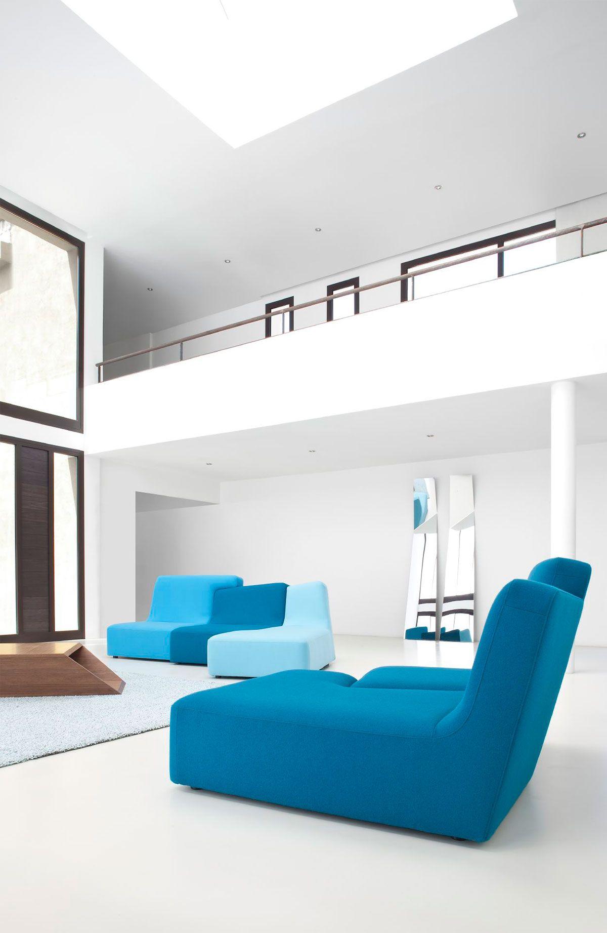 Admirable Confluences Sofa Set Designed By Philippe Nigro For Ligne Pabps2019 Chair Design Images Pabps2019Com