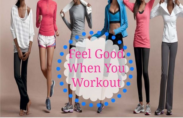 """Feel Good When You Workout As the saying goes, """"When you look good, you feel good""""; and this is no exception to workout clothes! As crazy as it may sound, dressing in cute, comfy active wear can actually drive you to push harder in a workout (aka resulting in a good workout). Find out how you can easily spice up your wor...  Read More at http://www.chelseacrockett.com/wp/fashion/feel-good-when-you-workout/.  Tags: #Clothes, #Cute, #DryFitTank, #DryFitTee, #Exerci"""