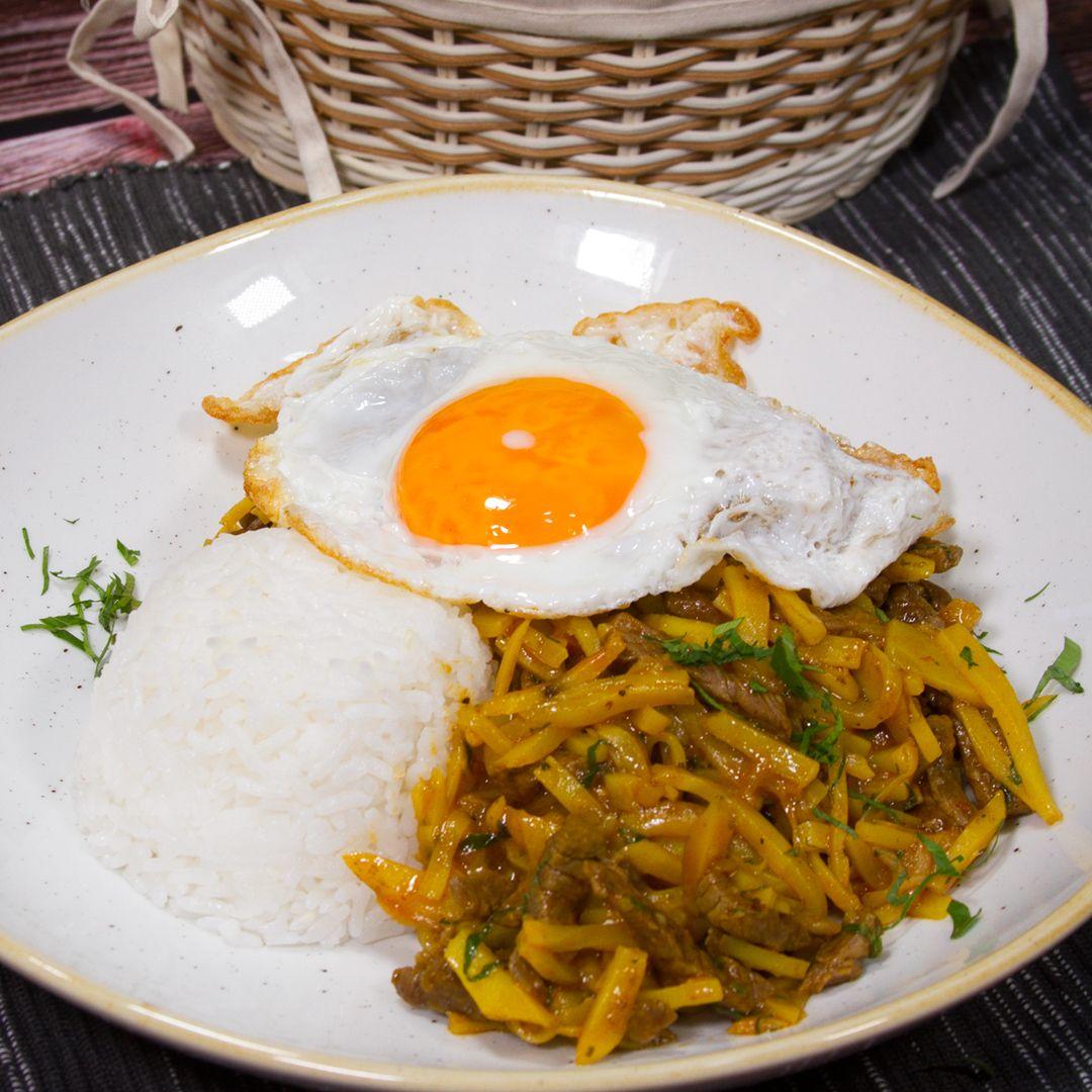Olluquito Con Carne A Comer Receta Comida Peruana Comida Peruana Recetas Recetas Peruanas