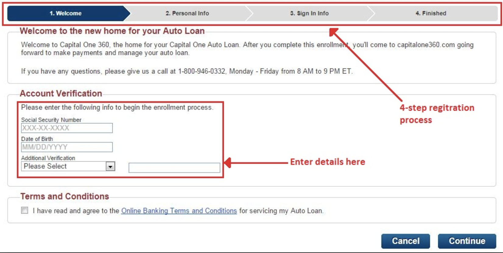 Capital one auto finance customer service number