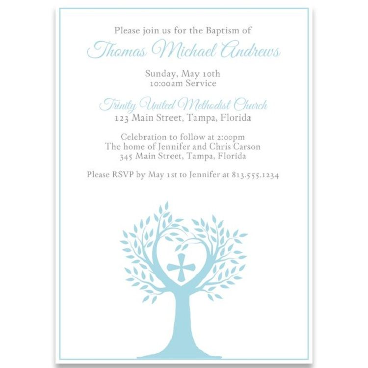 Catholic Baptism Invitations Invitation Wording