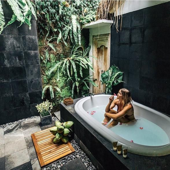 around the world in 33 perfectly perched bathtubs | estates + villas