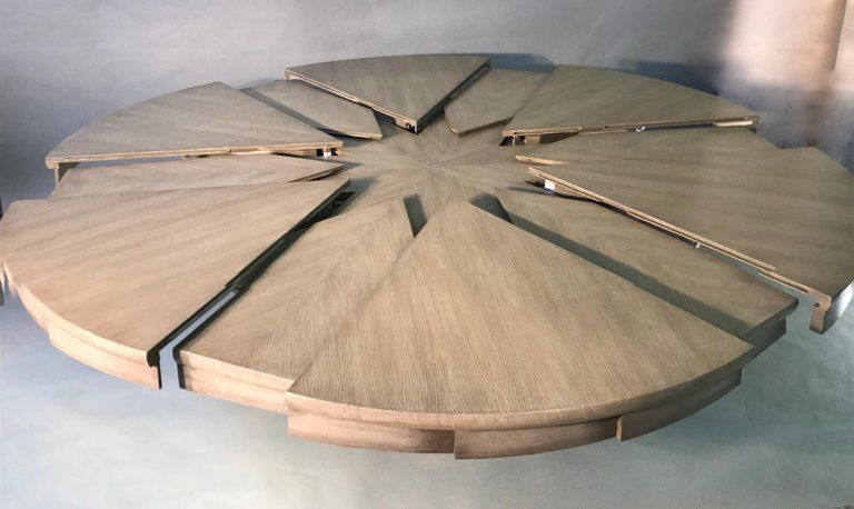 Nautilus Inspired Expanding Table With Images Table Dining