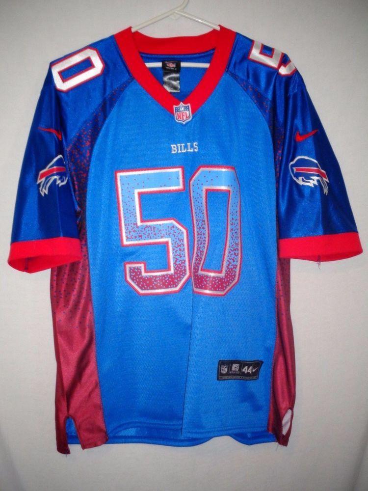 Buffalo bills mens size 44 kiko alonso jersey nike blue