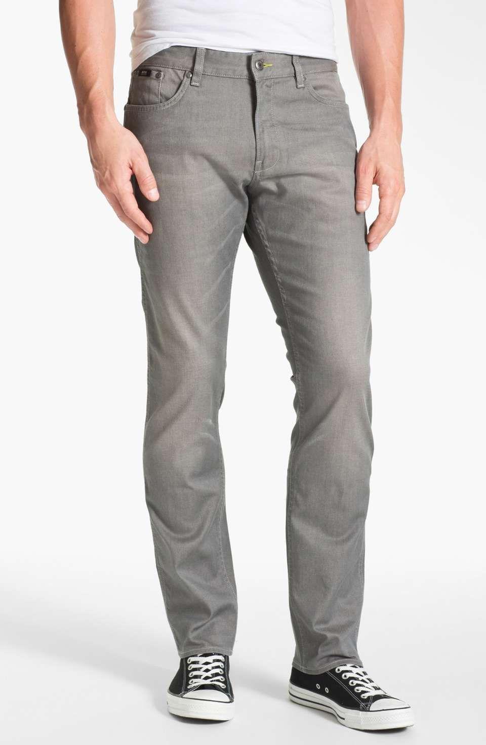 Boss Hugo Boss BOSS Black 'Delaware' Slim Fit Jeans (Grey ...
