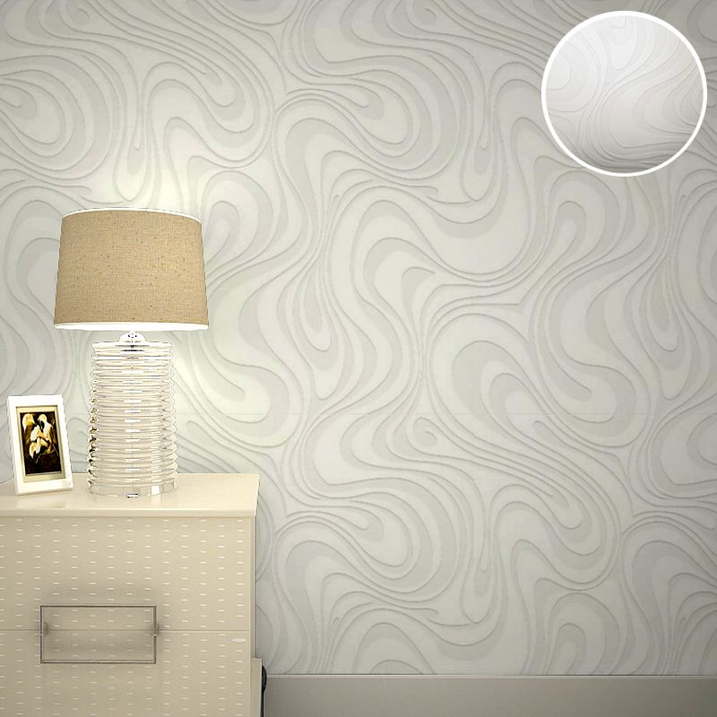3d embossed paintable wallpaper abstract white stripes textured wallpaper modern