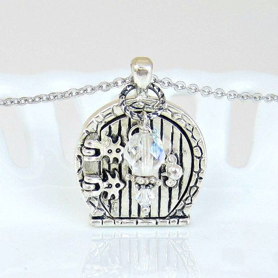 Fairy Wish Door Locket  Necklace by paperplated on Etsy, $20.00