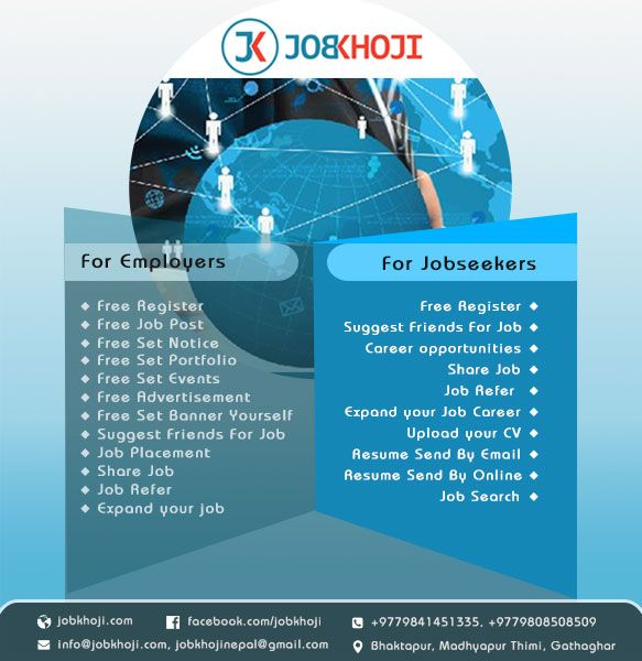 Jobkhoji is one of the emerging and leading job portal site of
