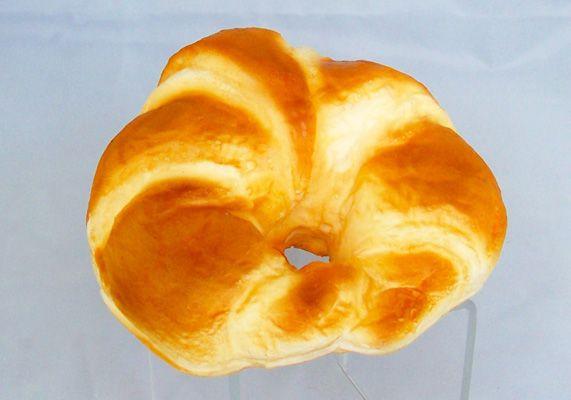 Dinner Roll Prop Display Wax Fake Food Croissant