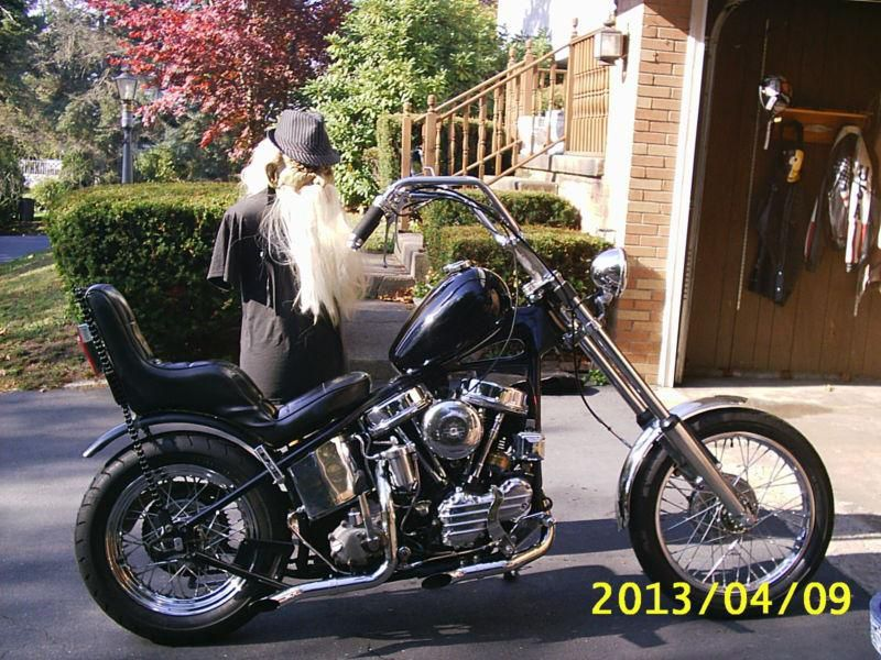 harley davidson /1957/panhead/chopper/old school/ | addicted to