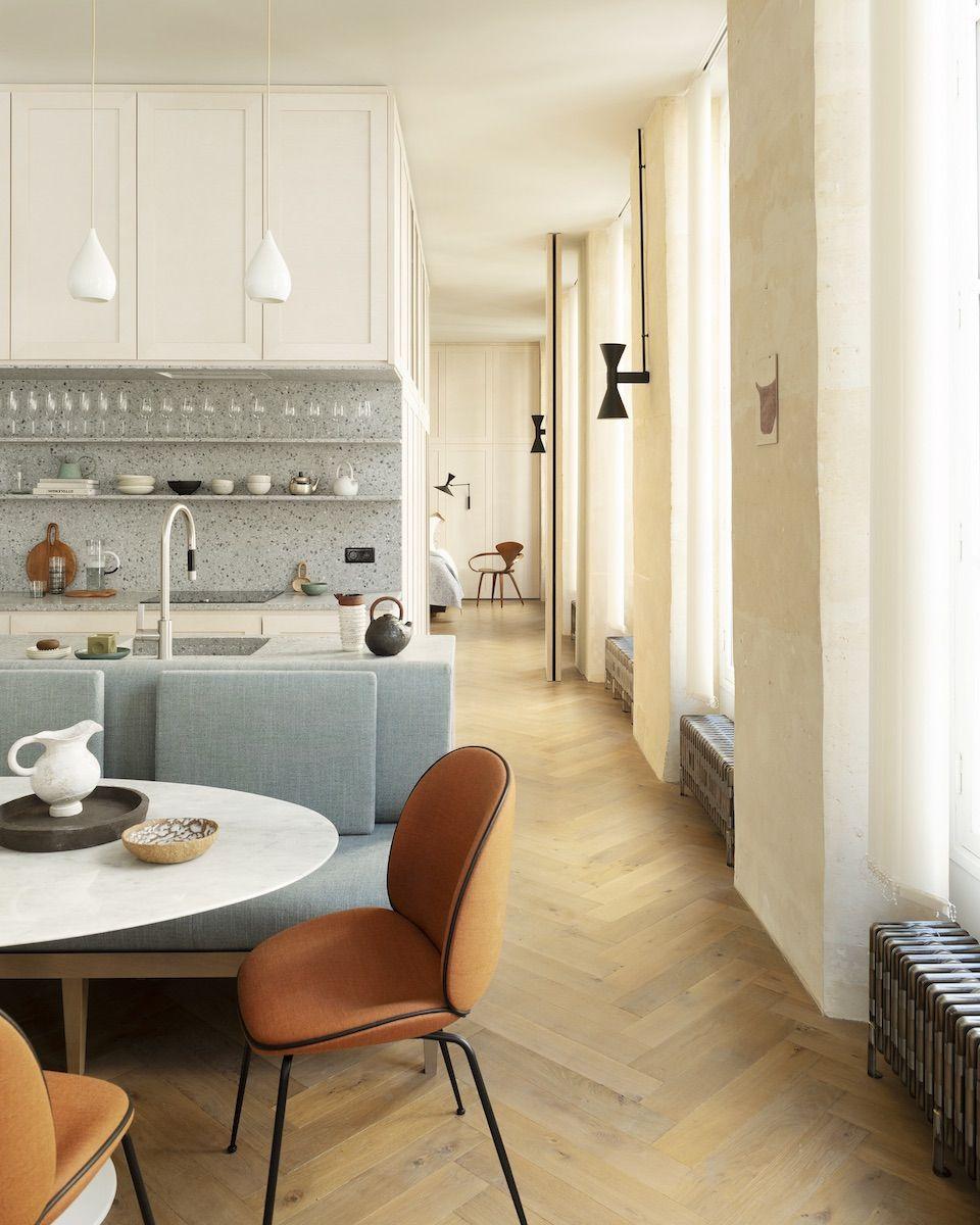 Poésie moderne  Bar maison moderne, Décoration appartement
