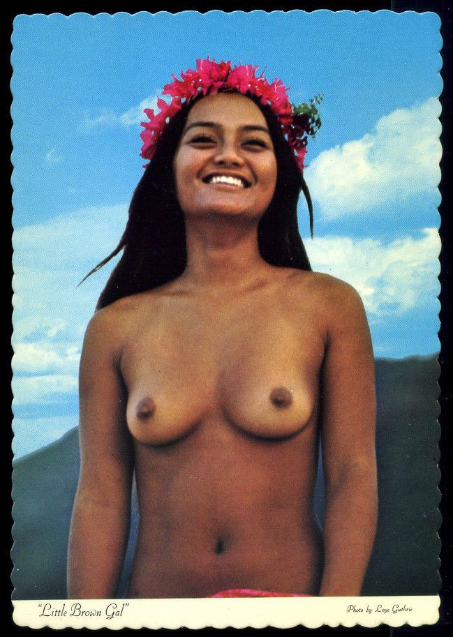 Remarkable native hawaiian girl nude