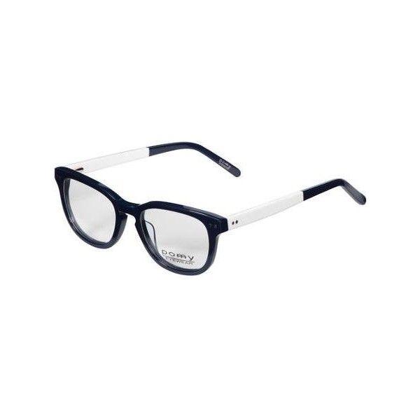 Pomy Eyewear Eyeglass Frames, Navy Blue White Walmart.com ❤ liked ...