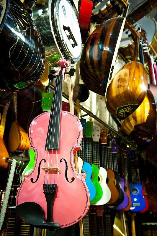 Istanbul - Musical instruments| by MrsLimestone