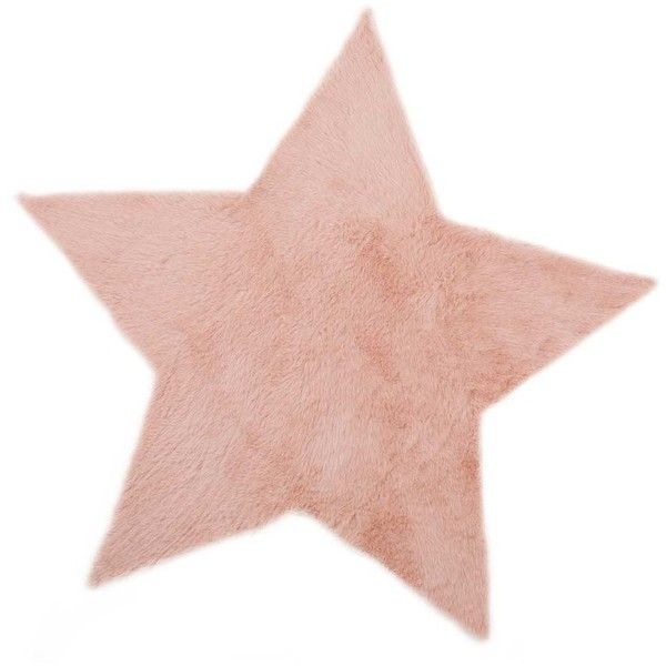 Star carpet - Old pink - Smallable ($125) ❤ liked on Polyvore