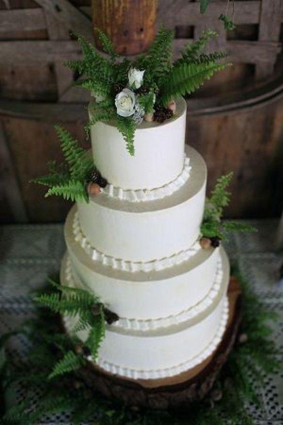 - wedding cake ferns | as a wedding cake decor or cake topper