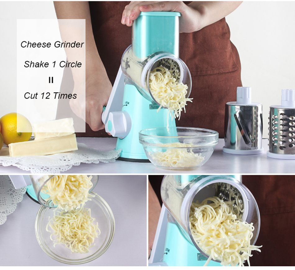 Cheese grinder, shake 1 circle means cut 12 times~ | Mandoline ...