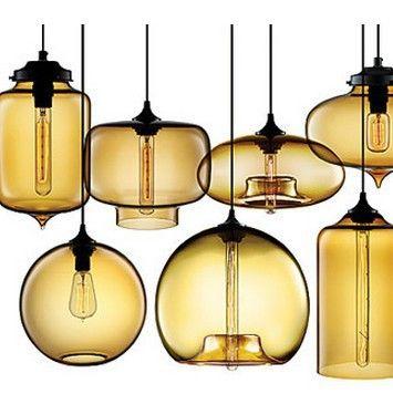 Afbeeldingsresultaat voor glazen bollen lamp   Verlichting - hang ...