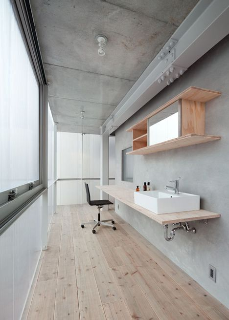 Suppose Design Office S House In Tousuienn Has Translucent Plastic