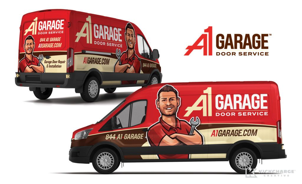 Vehicle Wrap Design For A1 Garage Door Service Nj Advertising Agency Nj Ad Agency Nj Truck Wrap Design Nj Veh Garage Service Door Car Wrap Design Car Wrap