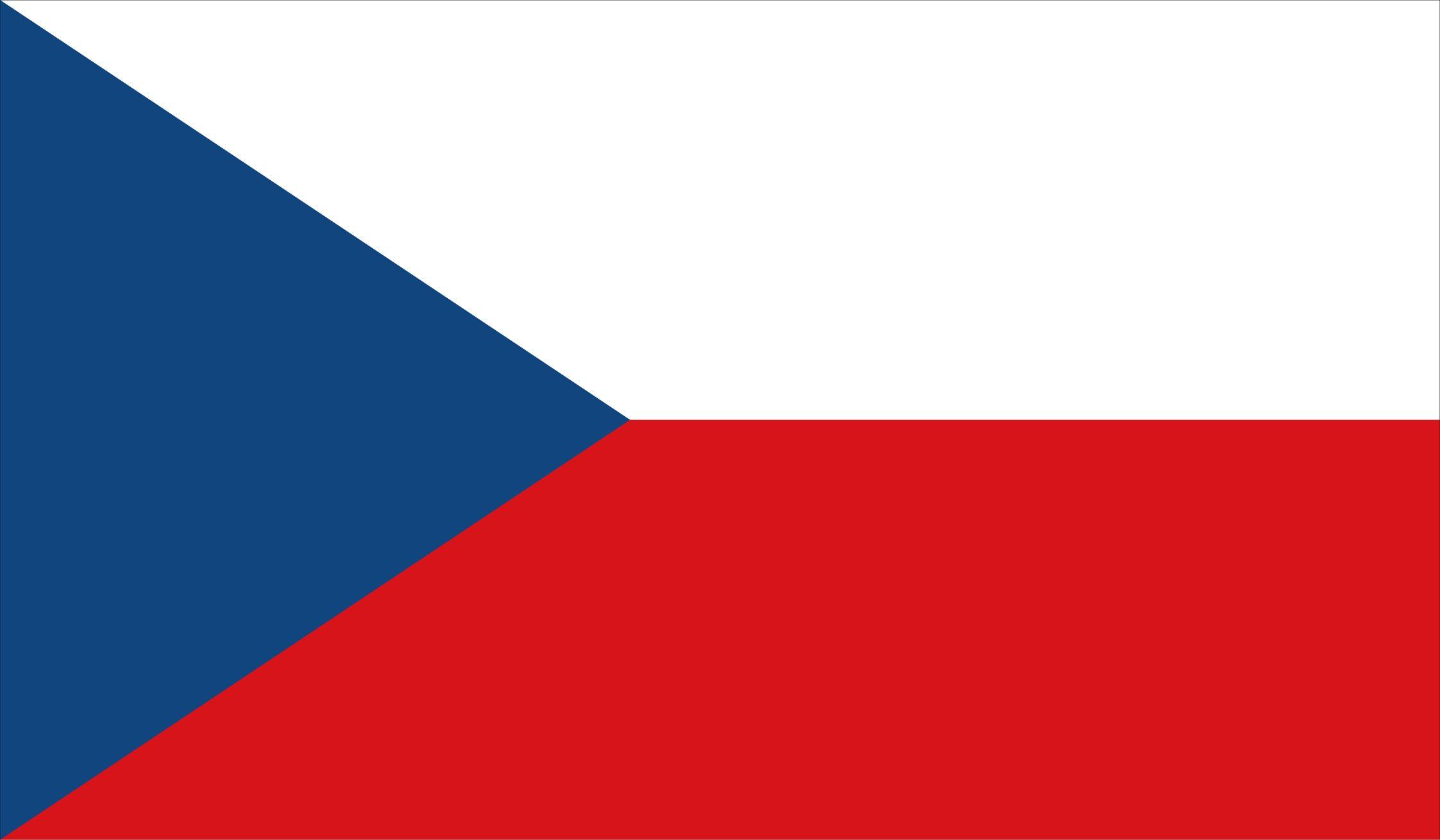 Czech Republic Flag Download Vector Banderas Del Mundo Praga