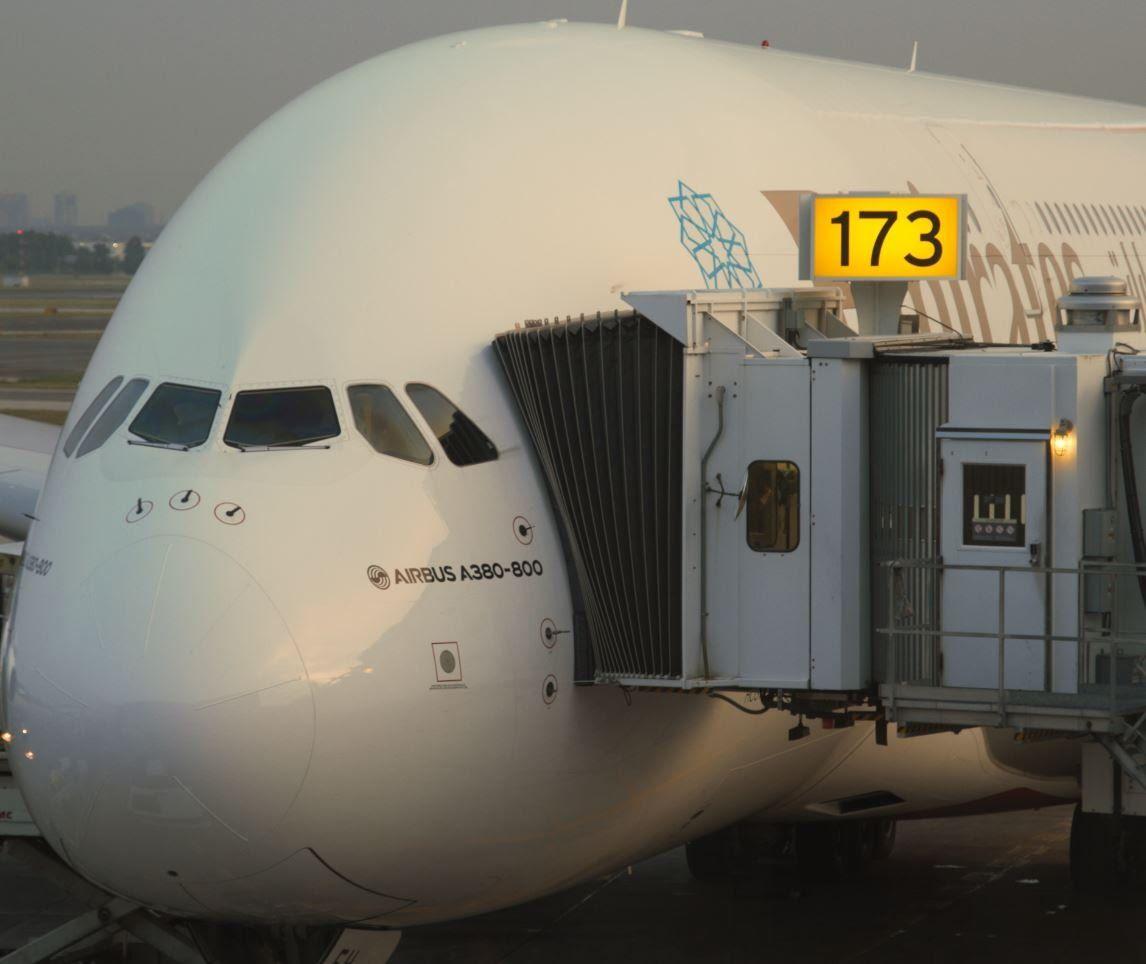 Emirates 242 - Toronto to Dubai - EK 242