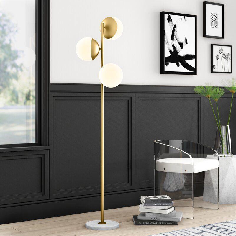Emil 65 5 Tree Floor Lamp Tree Floor Lamp Novelty Floor Lamp Traditional Floor Lamps