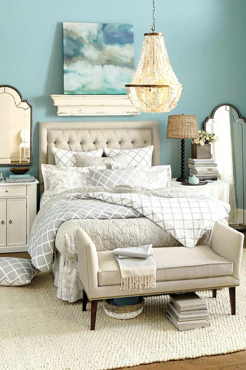 Pin By Marika S On Master Bedroom Blue Bedroom Blue Bedroom Paint Paint Colors For Home