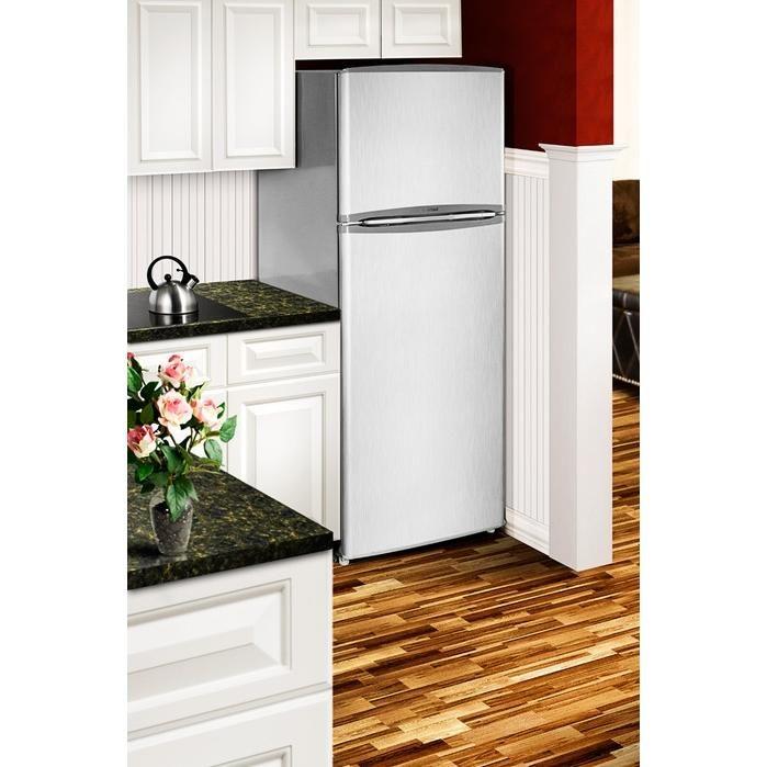 Summit FF1425SS 12.7 Cu. Ft. Apartment Size Refrigerator ...