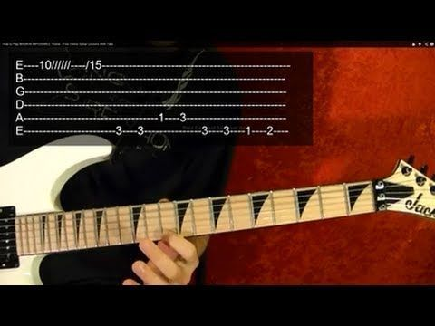 ▷ How to Play MISSION IMPOSSIBLE Theme - Free Online Guitar Lessons ...