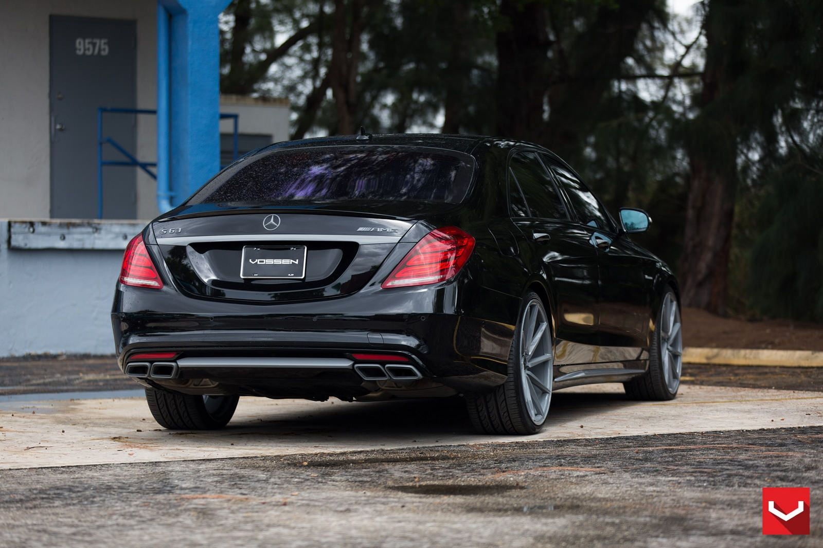 Mercedes Benz W222 S63 Amg On Vossen Cvt Wheels And