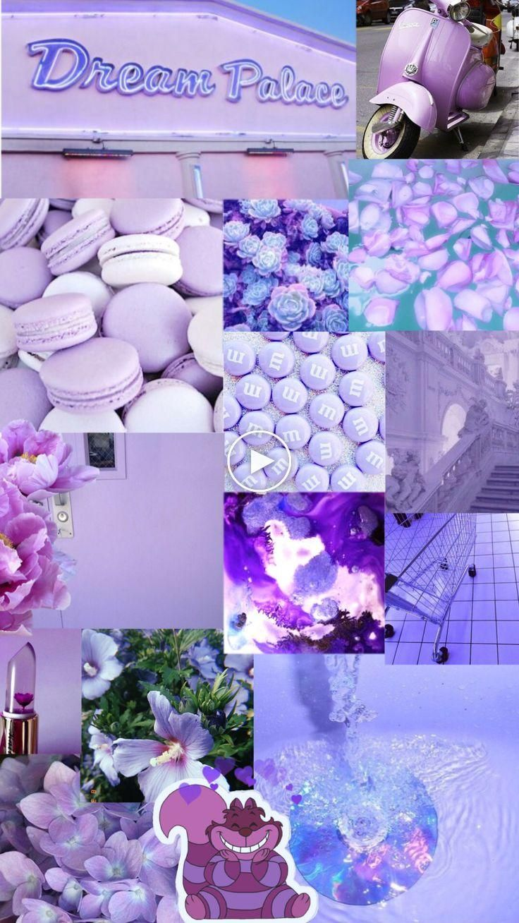 Violet Aesthetic Background Aesthetic Pastel Wallpaper Purple Wallpaper Violet Aesthetic