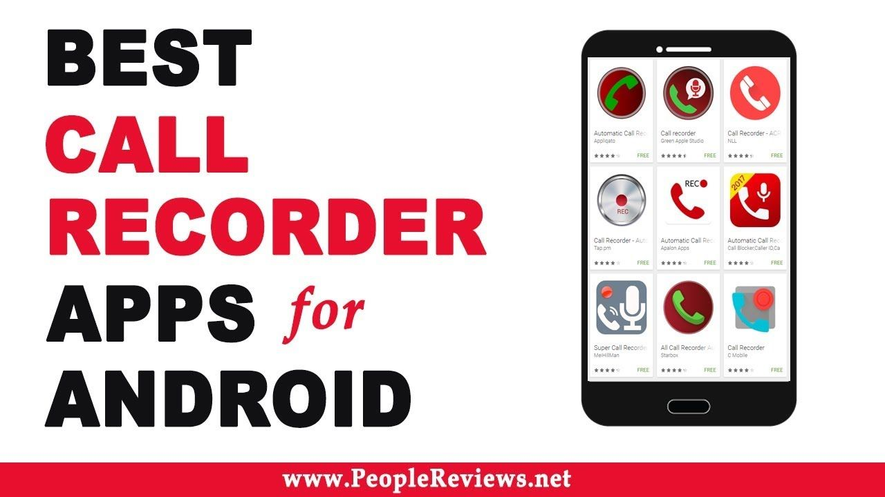 Best Call Recorder #apps for #android – Top 10 List | Best