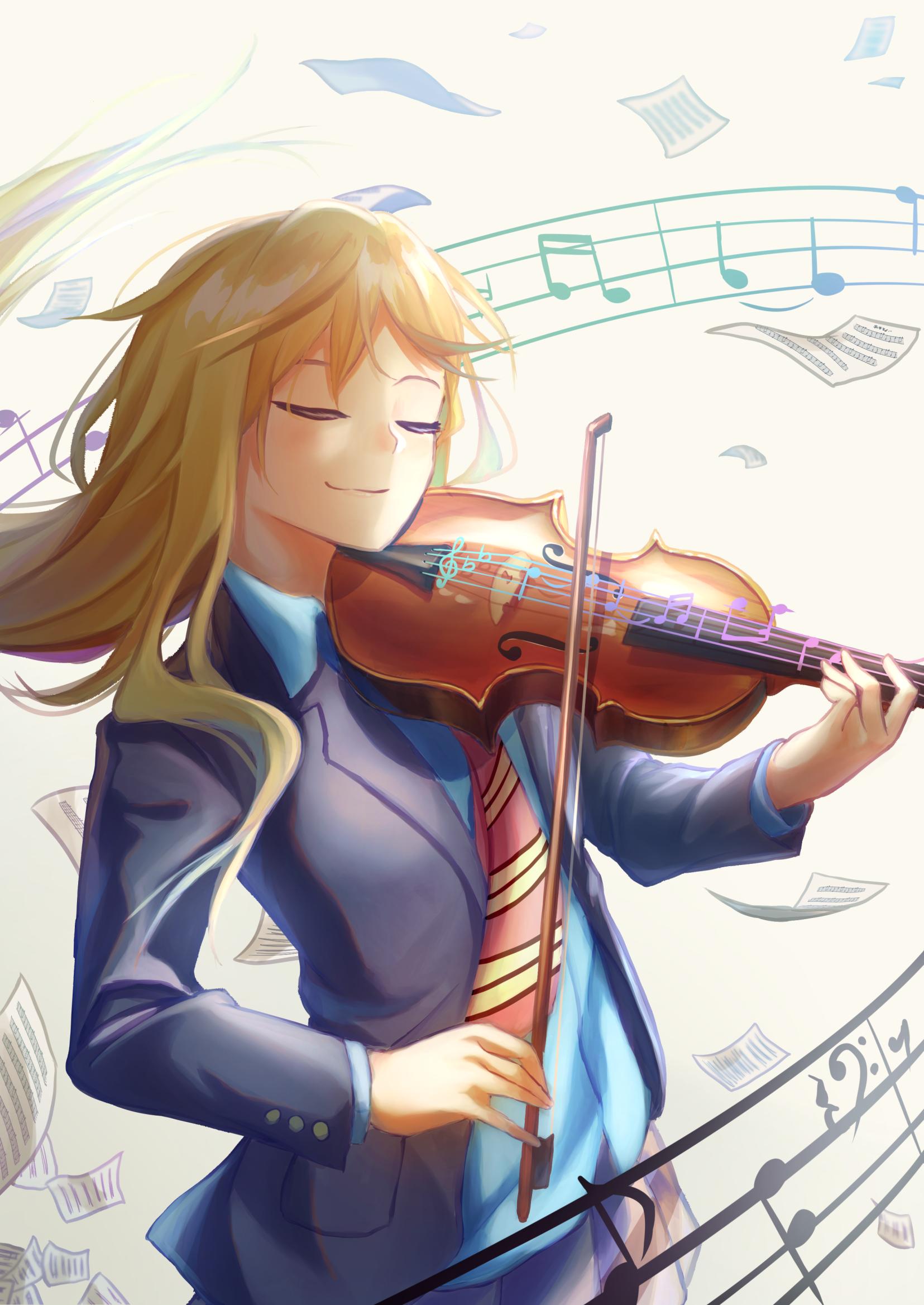 Your lie in april image by Joud on Kaori Miyazono Anime