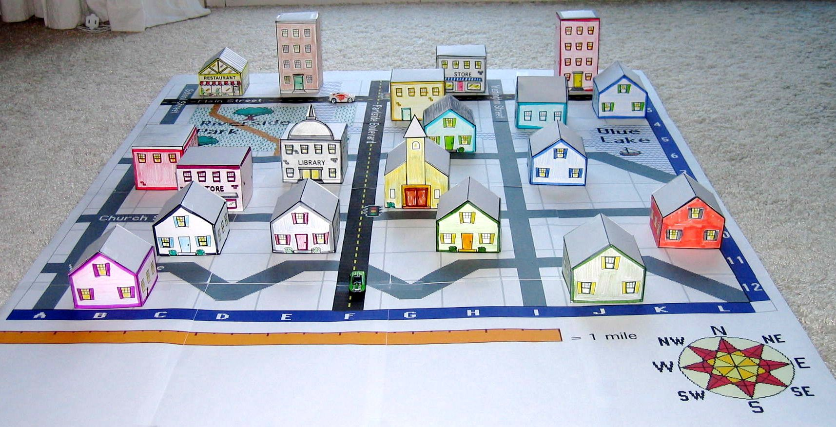 How To Build A 3d Town Should Fit Right Into Map Reading