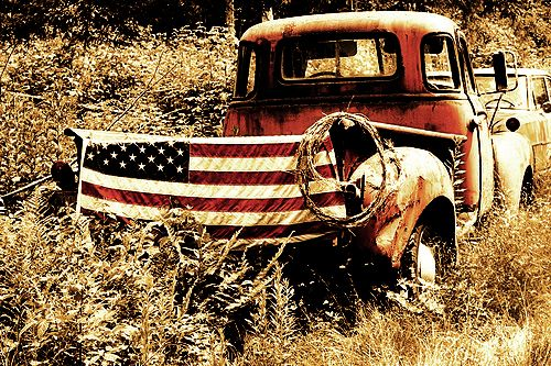 Old Red Truck..