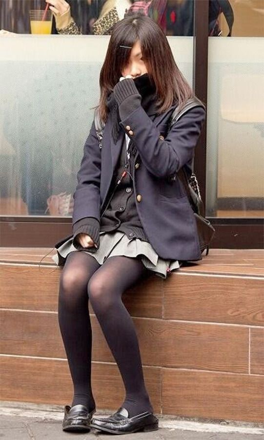 Japanese School Girl Stocking