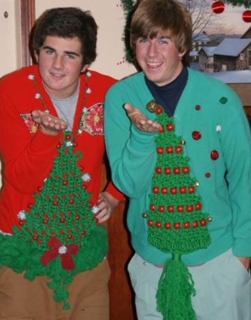 38 Ugly Christmas Sweaters - Tacky Holiday Party Sweater Ideas - Esquire
