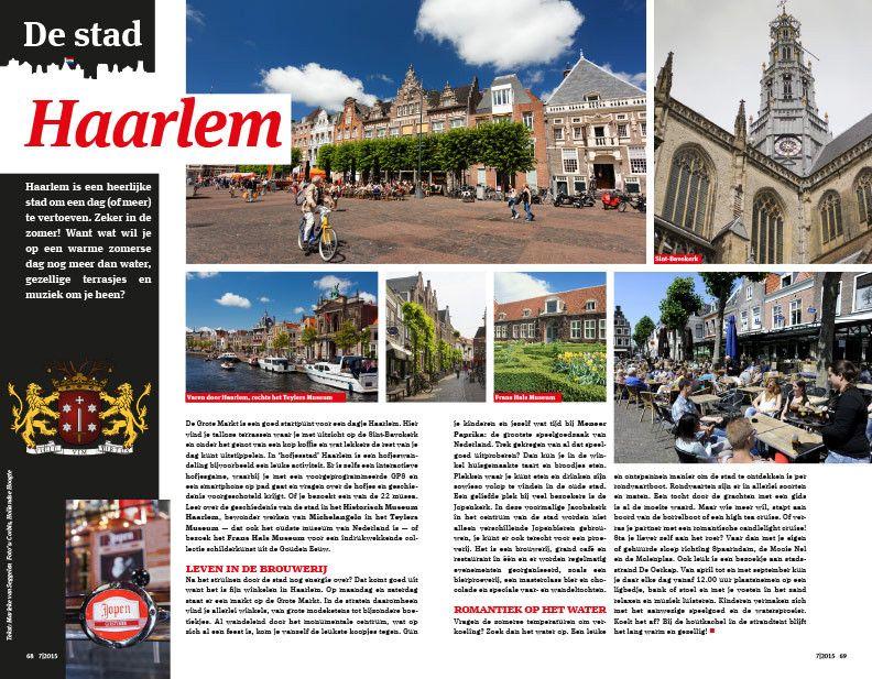 Preview: De stad Haarlem. In Ditjes & Datjes 7, vanaf vrijdag 26 juni bij alle Dirk supermarkten, Dirck III slijterijen en D-reizen vakantiewinkels. #DitjesDatjes
